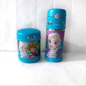 NWT Frozen Thermos Funtainer Cup and soup bowl set